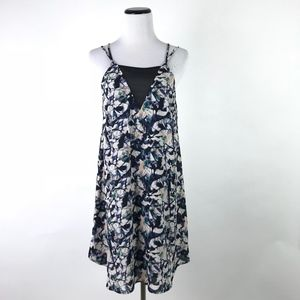 ASTR Mini VNeck Sheer Dress #974